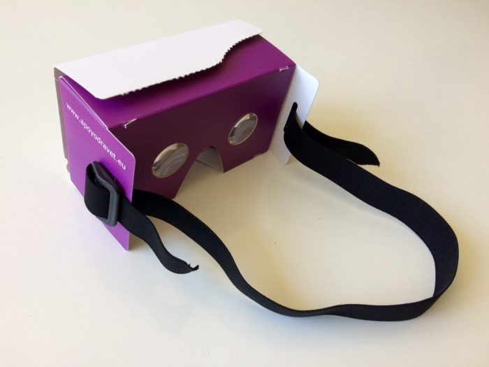 Gafas VR Cardboard Apoyodravet